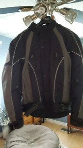 Men's large motorcylce jacket