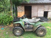 Kawasaki kvf400 farm quad 4x4