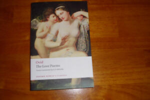 Ovid: The love Poems a new translation by A.D. Melville