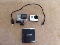 GoPro Hero 3+ Silver Edition, Waterproof Case, Charger, Sandisc 64BG Micro SD Card