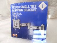 "Tilt & Swing TV Bracket for 10 to 23"" flat screen TV's"