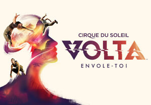 Looking for two tickets on Aug 18th to Cirque du Soleil Volta