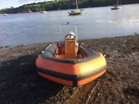 Humber 5 Metre Rib boat with 70 HP engine and road trailer