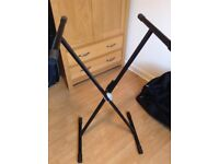 Double braced keyboard stand - £15