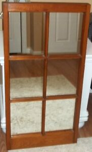 FOR SALE - - MOVING - - - Windowpane Framed Wall Mirror