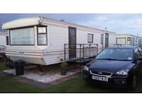 3 BED CARAVAN FOR HIRE ON CORAL BEACH INGOLDMELS SKEGNESS CLOSE TO FANTASY ISLAND SEPT/OCT DATES