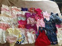 Girls Summer Clothes Bundle (3-6 months)