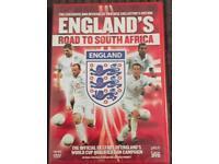 X50 new Sealed England DVDs 2 discs sets