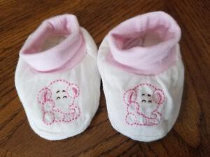 Baby elephant slippers