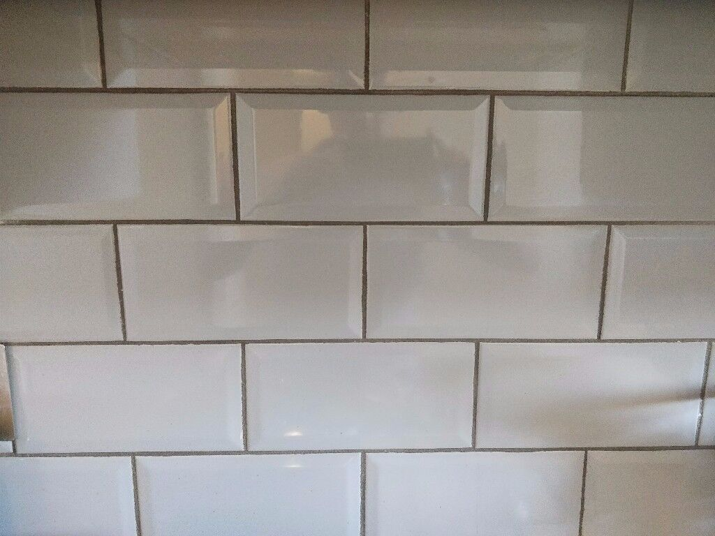 Kitchen Tiles Gumtree grey ceramic metro-style tiles for kitchen bathroom - excellent