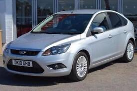 2010 Ford Focus 1.6 TDCi Titanium 5 door [110] [DPF] Diesel Hatchback