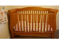 Babystyle Hollie Sleigh Cot Bed