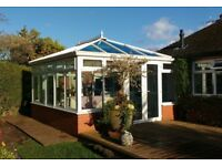 White upvc K2 make conservatory for sale
