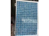 Blue Glass Mosaic Tiles