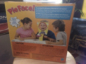 PIE FACE GAME NEW IN BOX