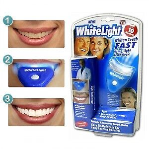 Ensemble complet blanchissage dents White Light Teeth Whitening