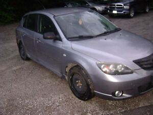 ! ALL PARTS AVAILABLE 2006 MAZDA 3 HATCH !