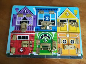 Melissa and Doug Latch Puzzle