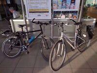 "Marin Muirwood Mountain/ Commuter bike. Steel Frame. 19"" Black."