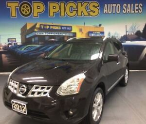 2012 Nissan Rogue SL, LEATHER, SUNROOF, NAVIGATION, AWD!
