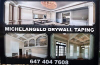 MICHELANGELO CROWN MOULDING AND TAPING
