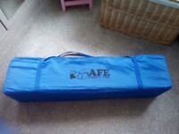 PLAY PEN AND TRAVEL COT