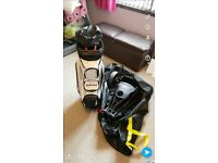 Taylor Made cart bag....... Eze glide trolley xl travel bag.