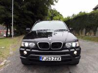 Bmw X5 3.0d turbo diesel automatic m sport black massive spec