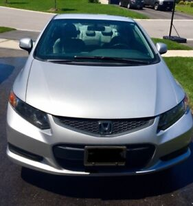 2012 Honda Civic LX Coupe (2 door), 95000 kms, $9200.00