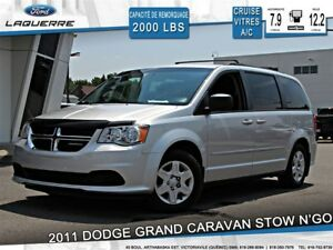 2011 Dodge Grand Caravan SE**STOW N'GO*CRUISE*A/C**
