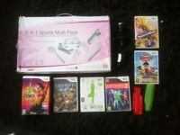 Wii joblot inc 19 items!! BARGAIN