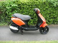 piaggio zip 50cc .lovely bike* 10 months mot* runs and rides spot on.full v5 and mot cert ,ride away