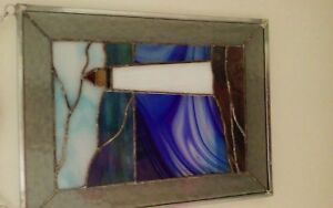 Handcrafted stained glass picture