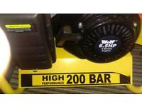 Wolf 200 bar petrol pressure washer