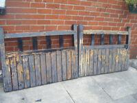 PERIOD WOODEN GATES