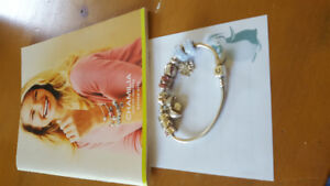 Genuine Chamilia bracelet and charms