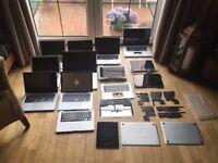 joblot of apple macbook laptops spares repair