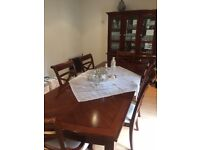 Furniture Village Dinning Table and Chairs