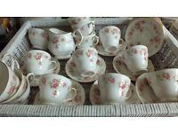 Wedding Tea Sets for 25 People, Vintage Shabby Chic, Richmond, Dutchess, Sheridon, Colclough