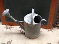 Beautiful Galvanised Watering Can