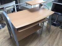 Study printer keyboard desk table