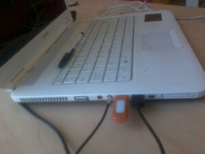 """White color Sony15.6"""" 4 GB Ram 750 GB HDD Laptop dual core 2 ghz"""