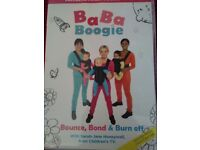 BaBa Boogie postnatal exercise with baby DVD