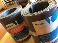 unused 2 rolls of lead flashing 150mmx 3 meters code 4 from wicks still wrapped
