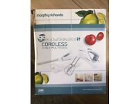 Morphy Richards cordless 3 -in - 1 multi tool