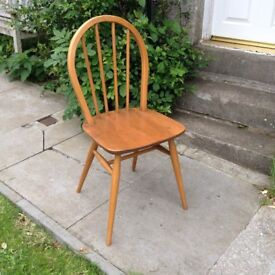 Ercol Hoop Stick Back Dining Chair1960 Original
