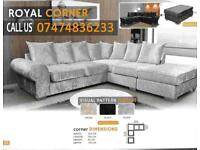 Royal Corner sofa brand new dXs