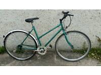 Ladies Raleigh Pioneer Hybrid Bicycle, For Sale in Great Riding Order