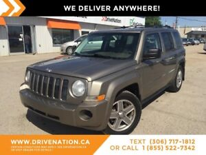 2008 Jeep Patriot Sport/North 4X4! GREAT FOR ANY SEASON!