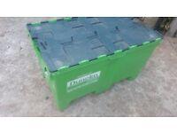 LARGE HEAVY DUTY STORAGE PLASTIC REMOVAL BOX